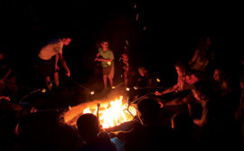 Camp Fire Night Low